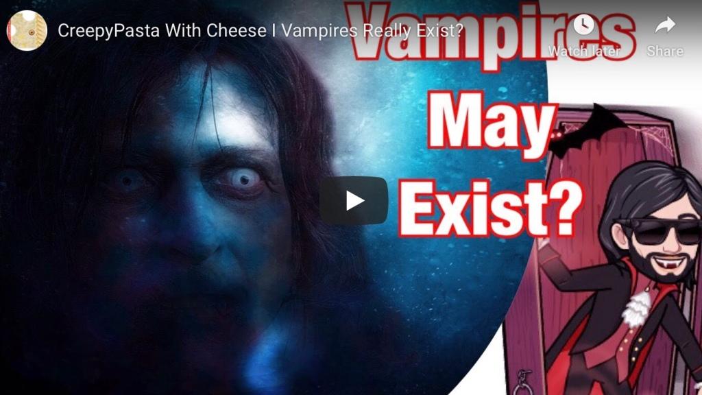 Vampires May Really Exist