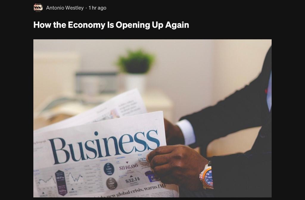 Business Economy