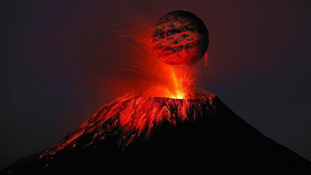 volcano unleashes mother of all extinctions