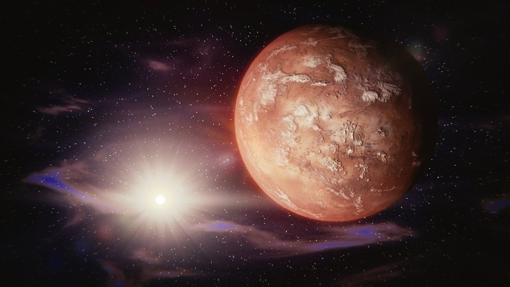 mars in the universe