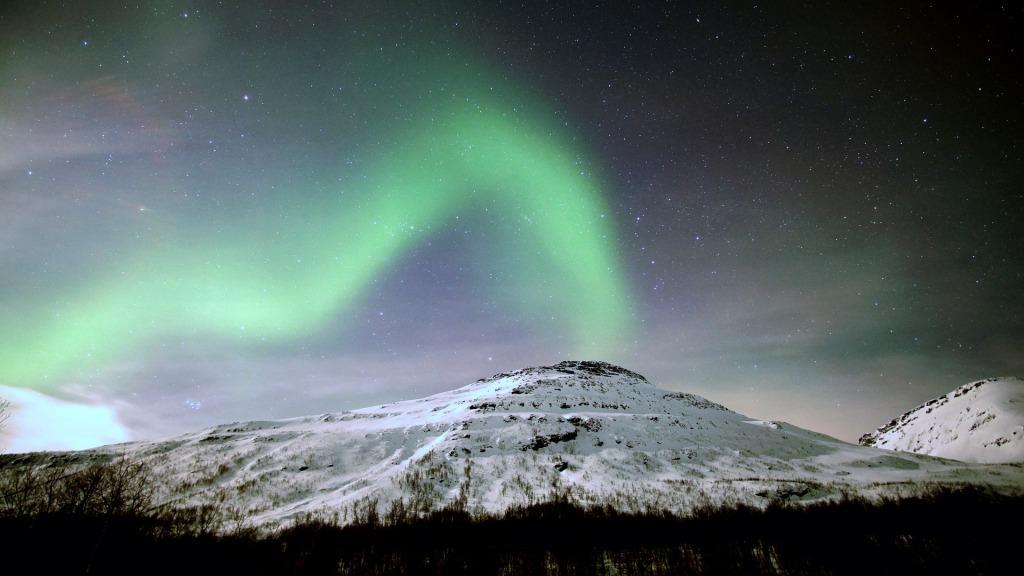 northern lights aurora storm