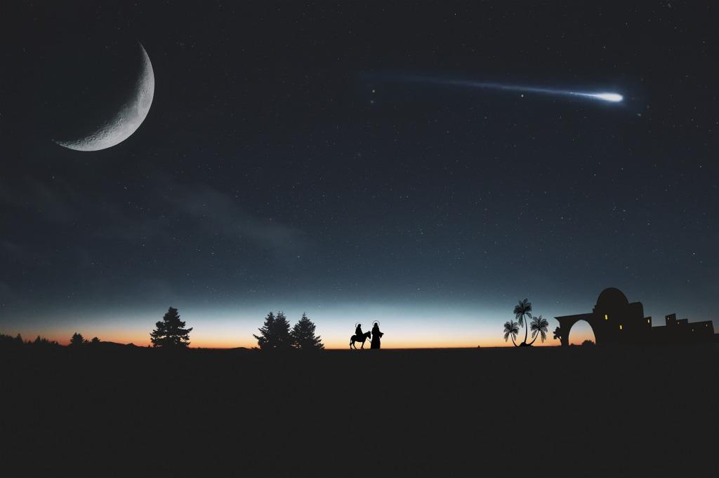 comet in the sky