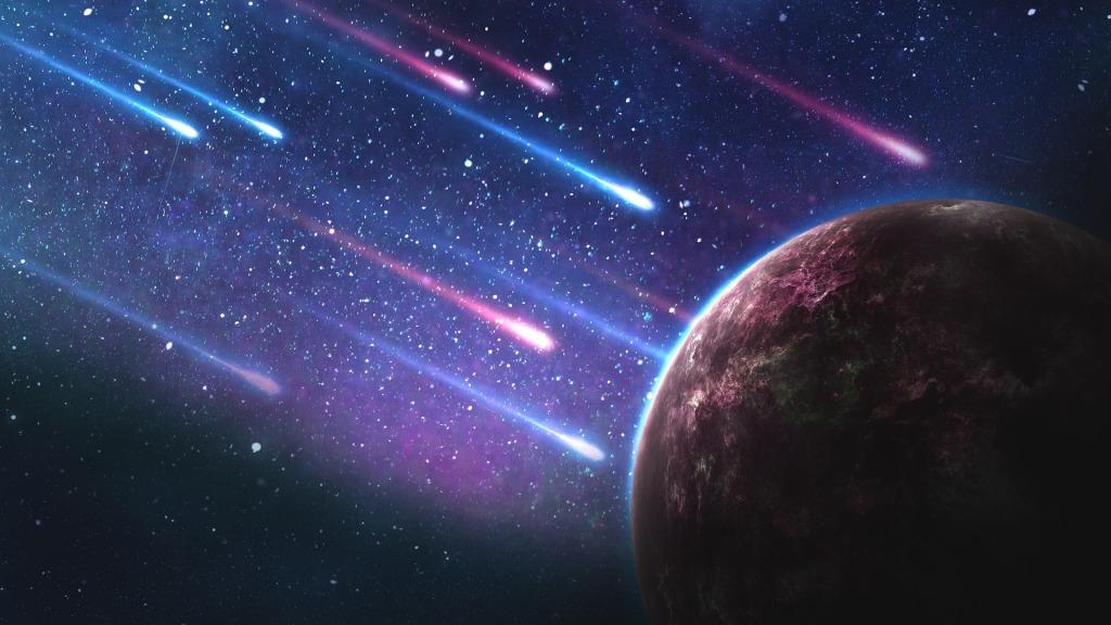 comets nearing earth