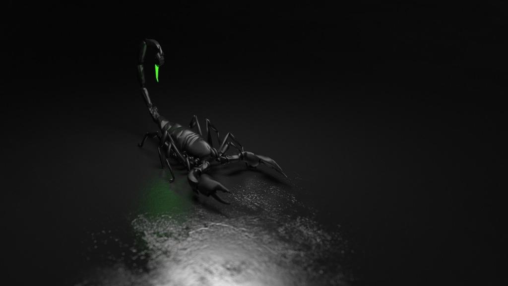 toxic scorpion